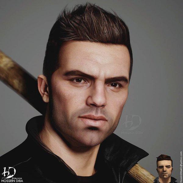 Клод — главный персонаж видеоигры Grand Theft Auto III