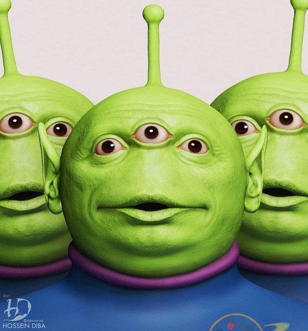 Инопланетяне из «Истории игрушек»
