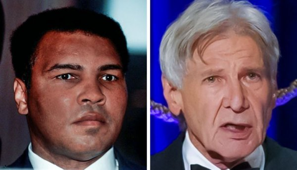 Мухаммед Али и Харрисон Форд родились в 1942 году