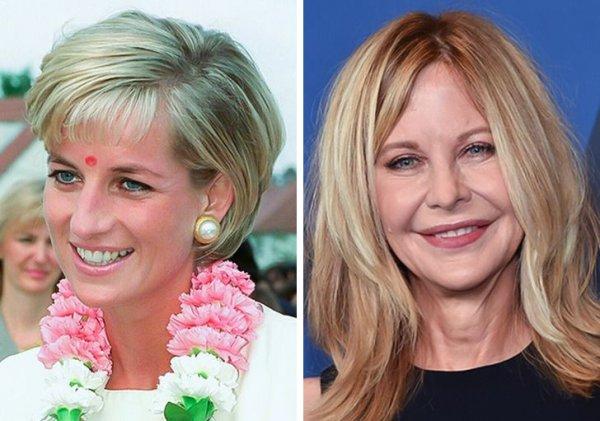 Принцесса Диана и Мег Райан родились в 1961 году