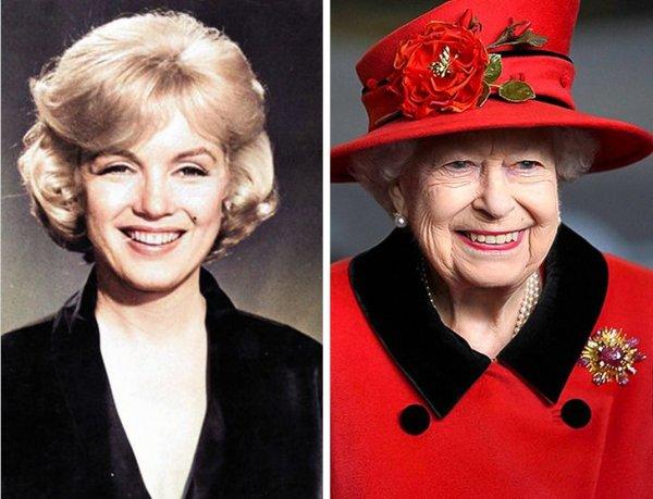 Мэрилин Монро и королева Елизавета родилисьв 1926 году