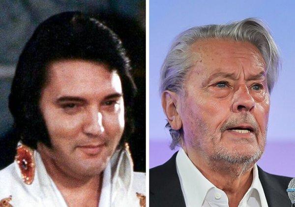 Элвис Пресли и Ален Делон родились в 1935 году