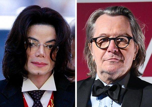 Майкл Джексон и Гэри Олдмен родились в 1958 году