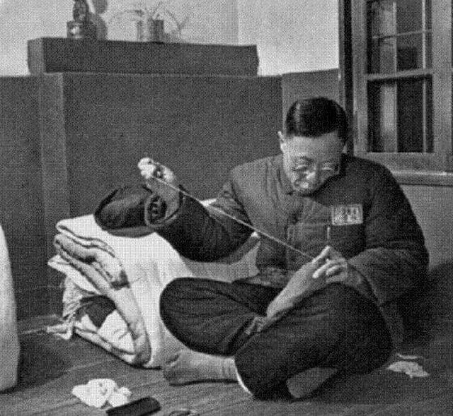 Последний император Китая Пу И в тюрьме. КНР, 1950-е.