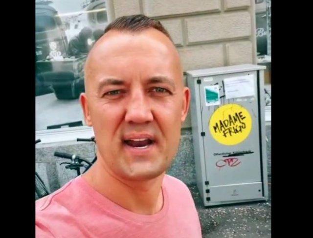 Мужчина показал, как в Цюрихе заботятся о нуждающихся, устанавливая холодильники на улицах