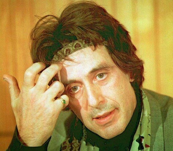 Аль Пачино на пресс-конференции. 1993 год