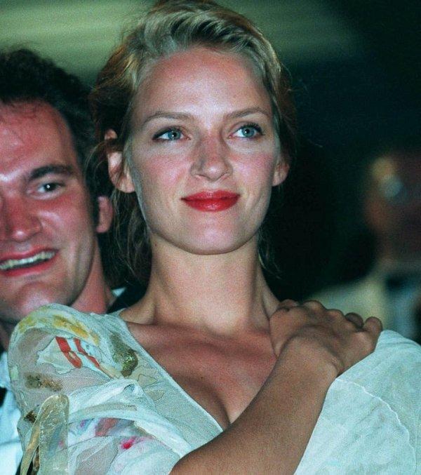 Ума Турман и Квентин Тарантино. 1994 год