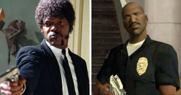 Сэмюэл Л. Джексон в игре «Grand Theft Auto: San Andreas»