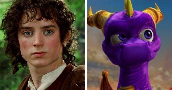 Элайджа Вуд в игре «The Legend of Spyro: Dawn of the Dragon»