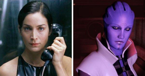 Керри-Энн Мосс в серии игр «Mass Effect»