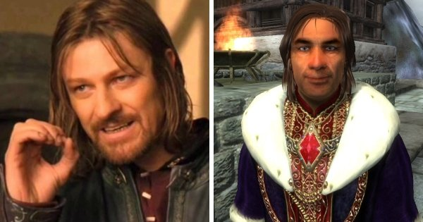 Шон Бин в игре «The Elder Scrolls IV: Oblivion»