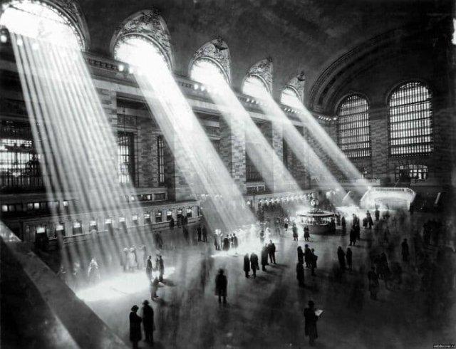 Центральный вокзал в Нью-Йорке. 1929 год