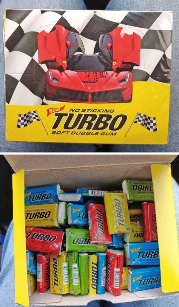 Увидел в продаже блок Turbo, не удержался