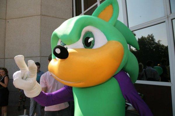 """А помните, как у """"МегаФона"""" был символ в виде зеленого Соника?"""
