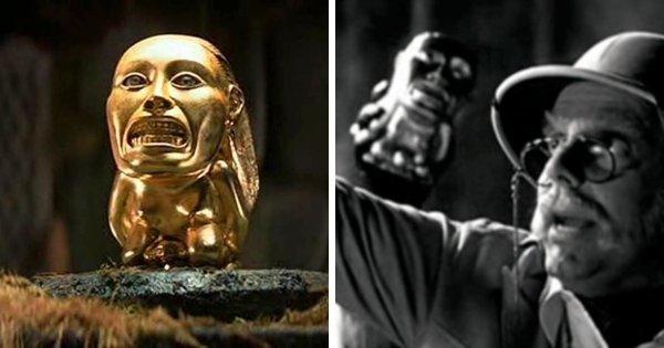 Золотой идол из «Индианы Джонса: В поисках утраченного ковчега» появляется в фильме «Мажестик»