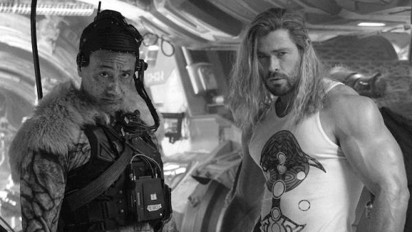 На съёмках нового фильма «Тор: Любовь и гром»