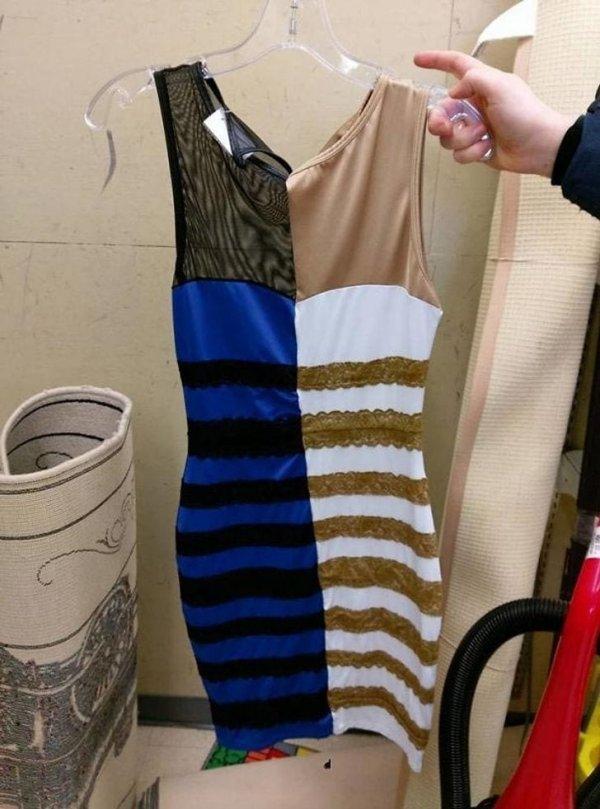 То самое платье, чей цвет не мог разгадать интернет