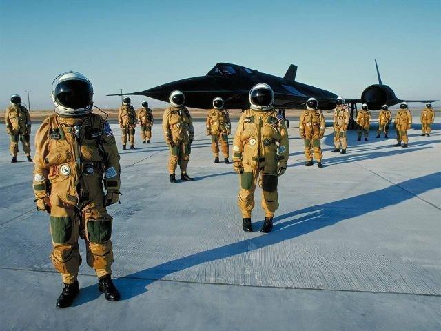 Стратегический сверхзвуковой разведчик ВВС США