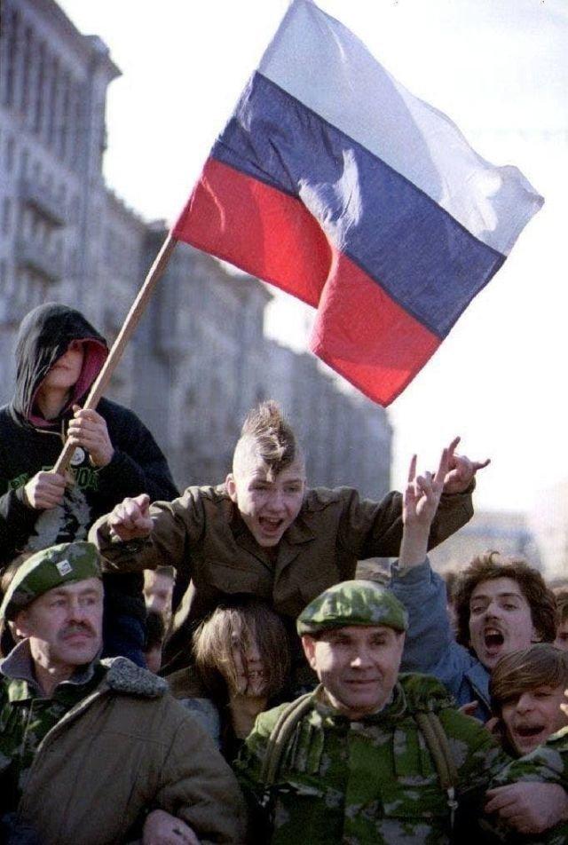 Концерт в поддержку Ельцина, 1993 год