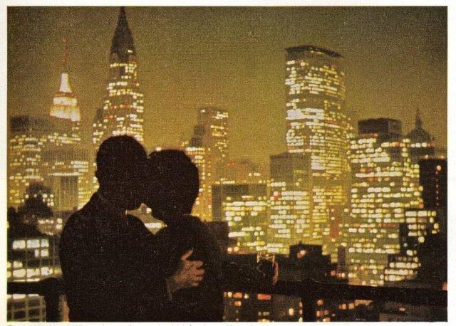Любовь в ночном Нью-Йopке, aпpeль 1965 годa