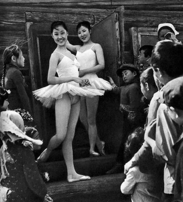 «Балерины из бурятского улуса», 1973 год.