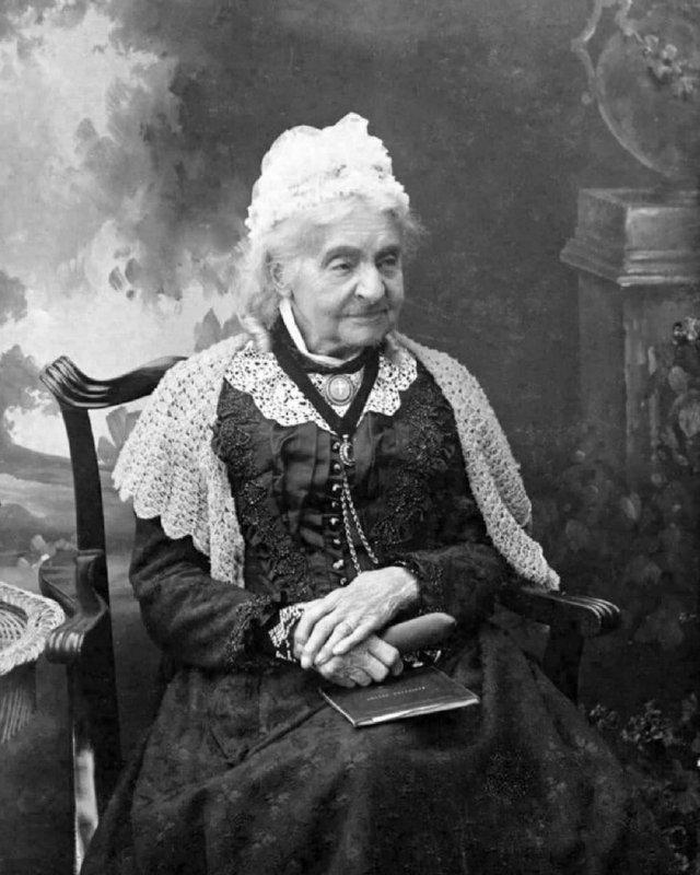 Маргарет Энн Харви, одна из немногих людей на планете, прожившая три века подряд (18 мая 1792 г. – 4 апреля 1903 г).