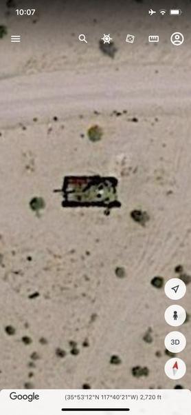 В Сети обсуждают рухнувший НЛО в Долине смерти, который нашли с помощью карт Google