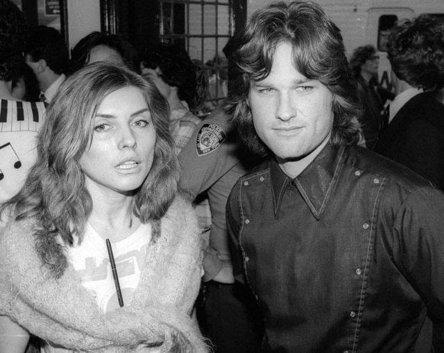 Дебби Xapри и Курт Pacселл, 1981 год.