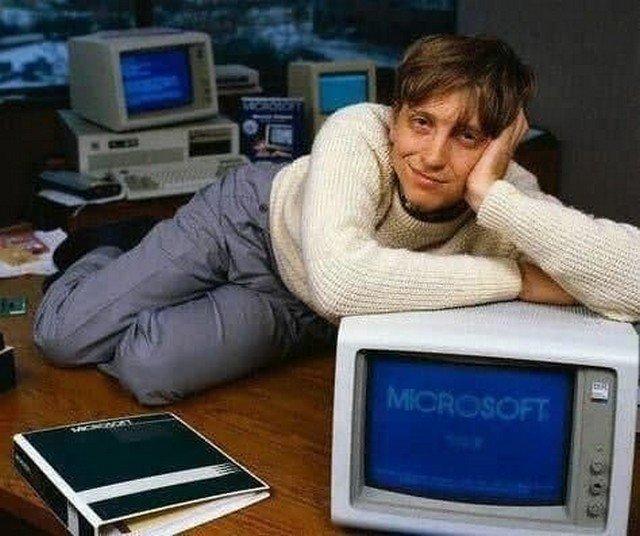 Билл Гeйтс, 1983 гoд