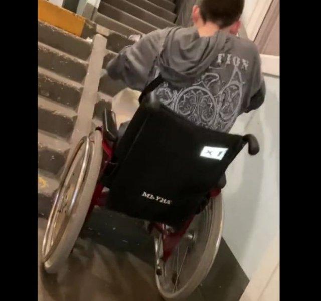 Инфраструктура для инвалидов