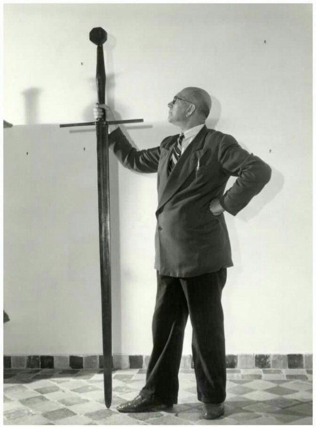 Цвайхендерский меч, принадлежавший пирсу Грутте (1480-1520), фризскому пирату и военачальнику