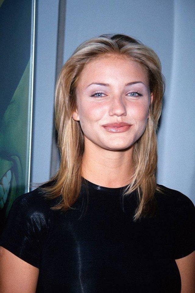 Молодая Кэмерон Диаз, начало 90-х.