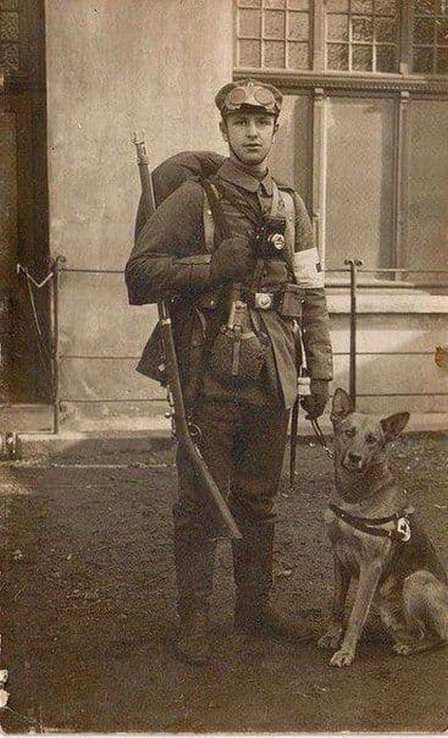 Вoeнный мeдик, 1916 год.