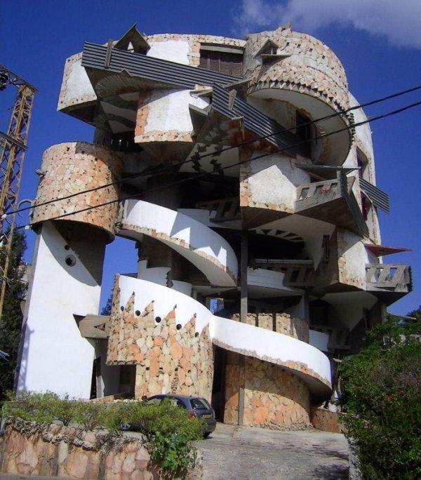 Спиральный дом в Рамат Гане из-за сложного дизайна строили целых пять лет