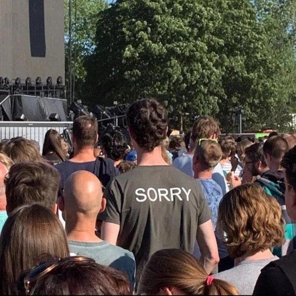 «Простите»