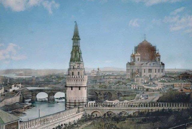 Москва, 1856 год