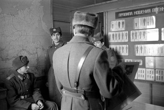 Патруль задержал дезертира. Самарская область. 2 марта 1992 года.