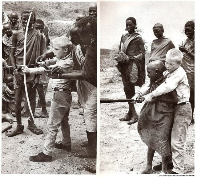 Обмен орудием. 1962 год.