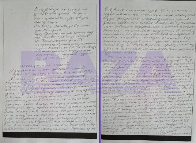 """Михаил Ефремов попросил о смягчении своего приговора, так как 7,5 лет тюрьмы """"очень сурово"""""""