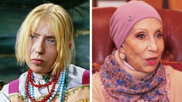 Инна Чурикова, «Морозко» (21 год и 77 лет)