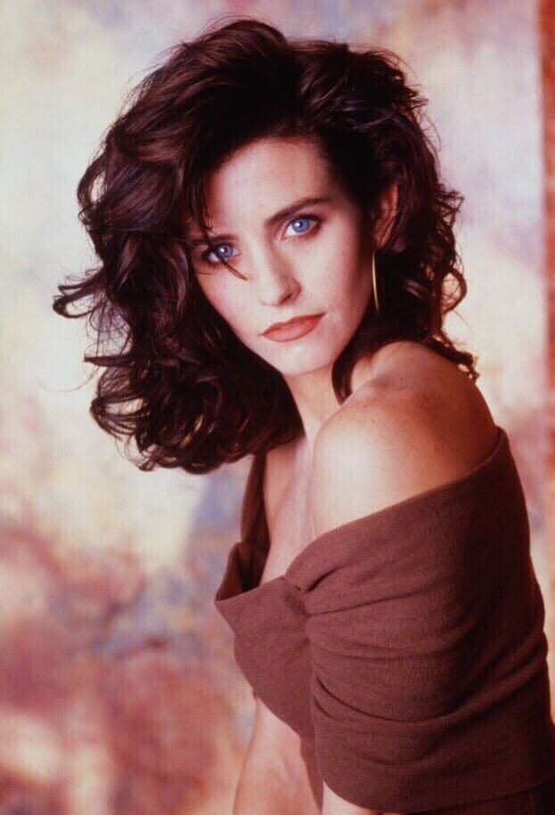 Актриса Кортни Кокс, 1992 год