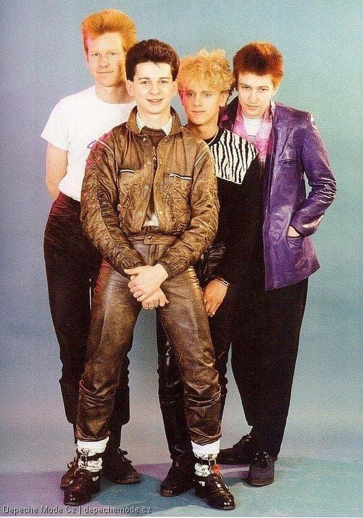Depeche Mode, Англия, 1980-е.