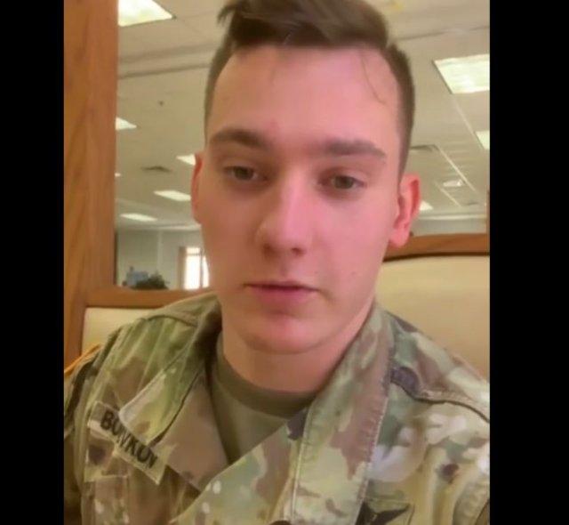 Обед в американской армии