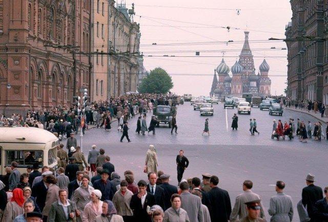 Центр Москвы. 1961 год.