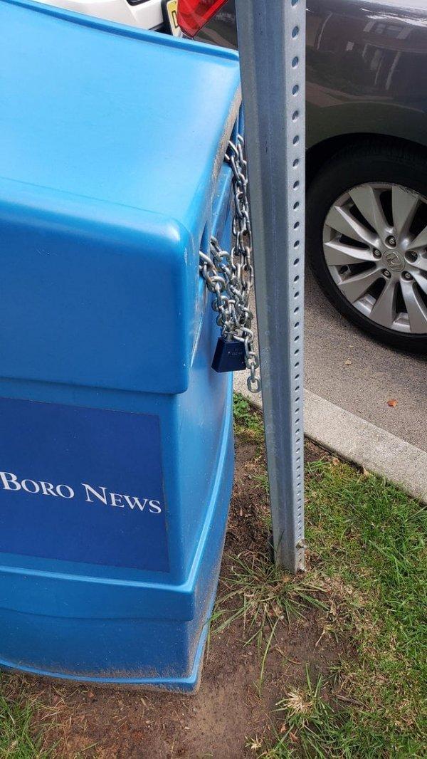 Теперь никто не сможет украсть почтовый ящик