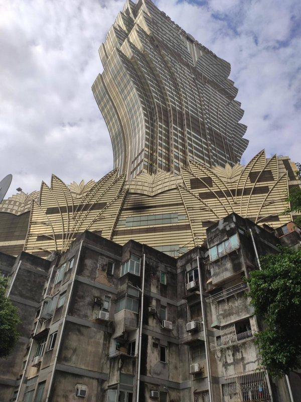 Контрасты Макао, Китай