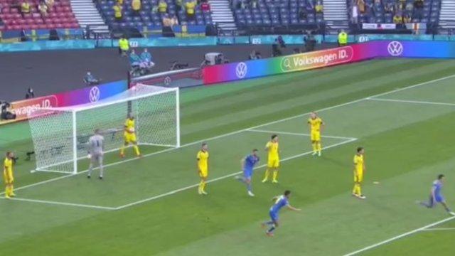 Сборная Украины обыграла Швецию со счетом 2:1: лучшие моменты и голы