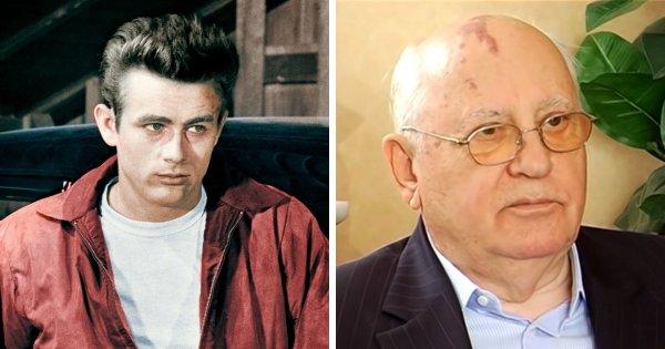 Джеймс Дин и Михаил Горбачёв родились в 1931 году