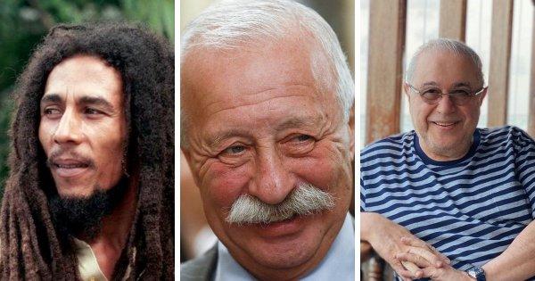 Боб Марли, Леонид Якубович и Евгений Петросян родились в 1945 году