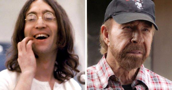 Джон Леннон и Чак Норрис родились в 1940 году